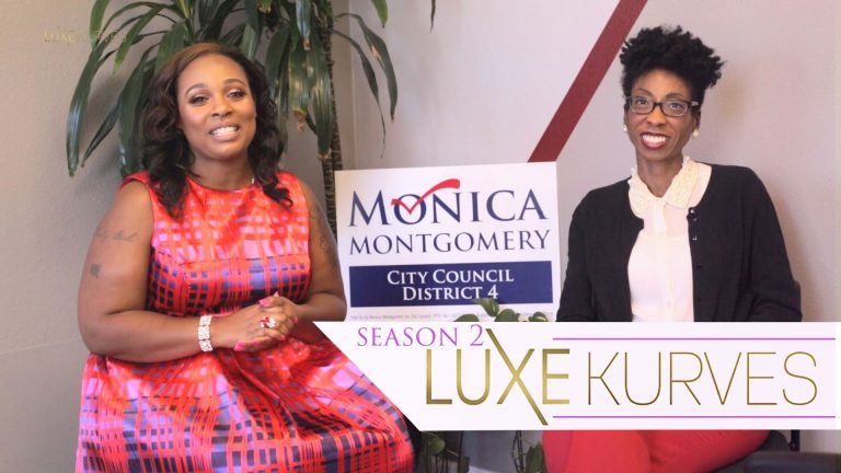 LUXE Kurves T.V.: Brandee J Interviews City Council Candidate Monica Montgomery