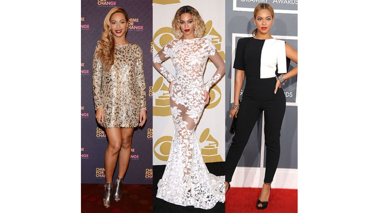 BEYONCE'S TOP GRAMMY LOOKS