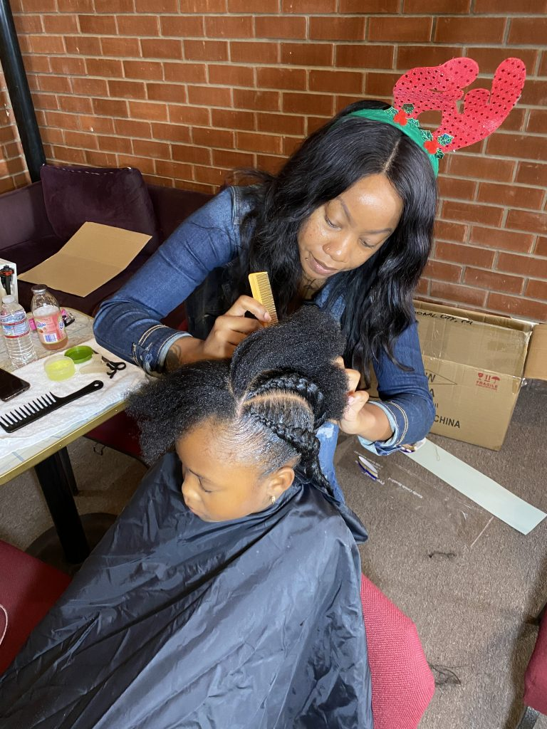 LUXE COMMUNITY SPOTLIGHT: SHUKOR BELLA HOST FREE BRAIDS/HAIRCUT GIVEBACK IN SAN DIEGO