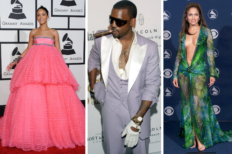 GRAMMY'S TOP LOOKS FROM THE PAST