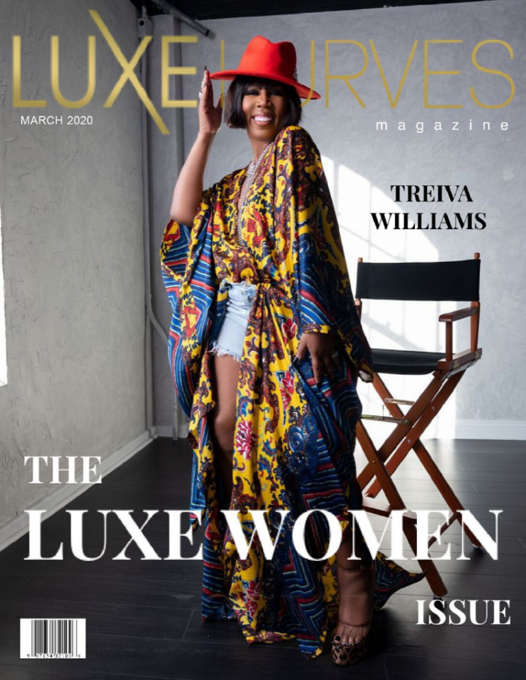 THE LUXE WOMEN MARCH COVER FEATURING TREIVA WILLIAMS