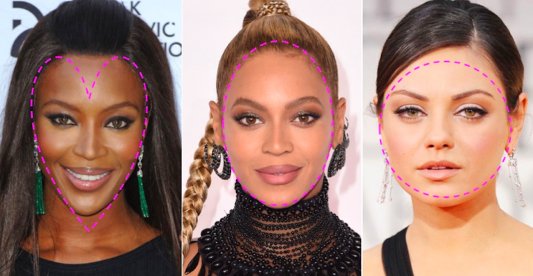 MAKE-UP TIPS FOR EVERY FACE SHAPE