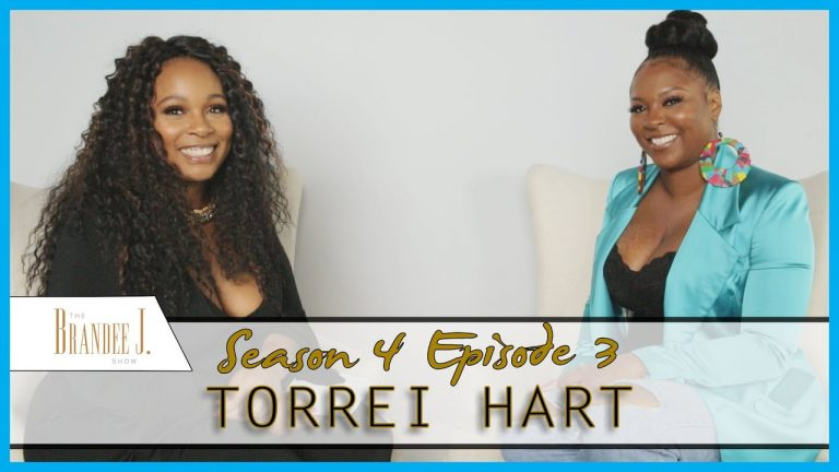 THE BRANDEE J TALK SHOW: FEATURING COMEDIAN/ACTRESS AND T.V. PERSONALITY TORREI HART