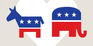 Democratic and Republican Party Symbols