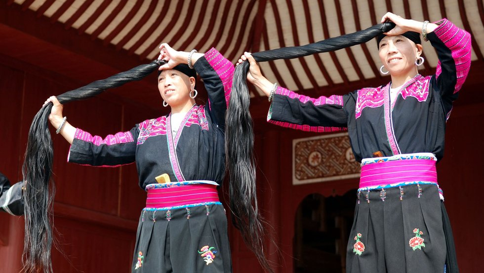 Modern-day Yao Women.