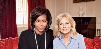 Former First Lady, Michelle Obama & Current First Lady, Jill Biden